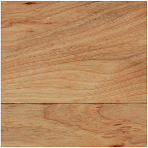 Wickes Solid Wood Worktop Upstand - Dark Beech 70 x 12mm x 3m