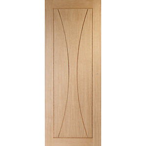 XL Joinery Verona Oak Patterned Pre Finished Internal Door - 1981mm