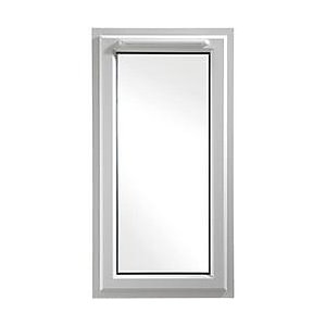 Wickes White uPVC Casement Window - Right Side Hung 610 x 1160mm